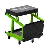 Автомонтьорски стол със стъпало ZIPPER ZI-MHKT4, 2 в 1, 136 кг