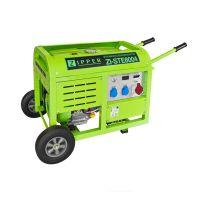 Трифазен бензинов генератор за ток ZIPPER ZI-STE8004, 8KW, 30 л, ел.старт