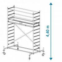 Алуминиево мобилно скеле KRAUSE Stabilo, 4.40 м