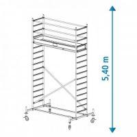 Алуминиево мобилно скеле KRAUSE Stabilo, 5.40 м