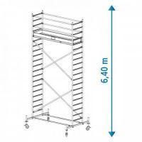 Алуминиево мобилно скеле KRAUSE Stabilo, 6.40 м
