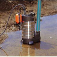 Потопяема дренажна помпа GARDENA Premium 20000 inox за мръсна вода / 1050 W , воден стълб 11 м /