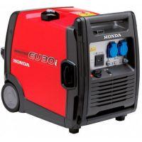 Инверторен бензинов генератор Honda EU30i Handy /3KW, подвижни колела/