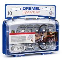 Комплект консумативи за рязане DREMEL SC690 /10 диска/