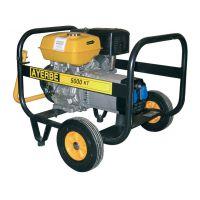 Трифазен бензинов генератор AYERBE 5000 H TX / 4.4kW, разход 1.8 л/ч./
