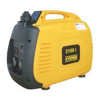 Инверторен монофазен бензинов генератор с шумозаглушителен кожух AYERBE 2100 INS