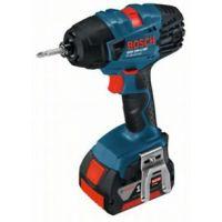 Акумулаторен ударен гайковерт Bosch GDR 18 V-Li MF  /куфар L-Boxx, 2 батерии 5,0 Ah/