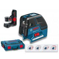 Точков лазер Bosch GCL 25 C /стойка за стена BM1, куфар L-Boxx/