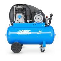 Електрически компресор Abac A29B 90 CM3, 320 л. / мин., 10 бара, 90 л