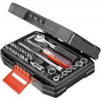 Комплект гедоре от 31 части на BLACK & DECKER A7142 /дръжка, накрайници и битове/