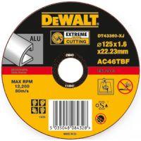 Абразивен диск за рязане на алуминий DEWALT DT42360 /25 броя/