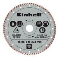 Диамантен режещ диск за RT-SC 920 L Einhell /Ф 300 х 25,4 мм., турбо/