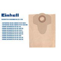 Торби за прахосмукачка хартиена 20 L Einhell /5 броя/