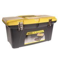 Куфар за инструменти пластмасов STANLEY Black&Decker JUMBO /метални ключалки, 563х313х300 мм  /