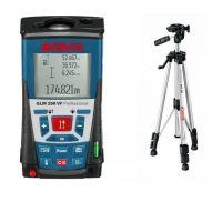 Ролетка лазерна противоударна Bosch GLM 250 VF  + Статив BT 150