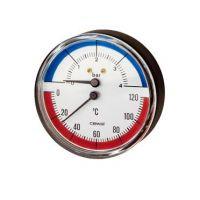 Термоманометър Cewal S.p.A. /6 bar, ф 80, аксиален/