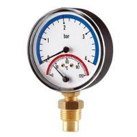 Термоманометър Cewal S.p.A. /6 bar, ф 80, радиален/