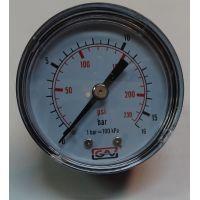 Манометър с резба GESA /16 bar, ф 40 мм, аксиален 1/8\