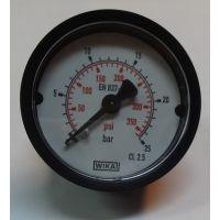 Манометър с резба Wika /1.6 bar, ф 63 мм, радиален М12х1.5/