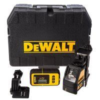 Нивелир лазерен линеен DeWALT DW088KD + приемник