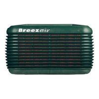 Воден охладител BreezAir EXH150G  /9.8 kW, за градини/