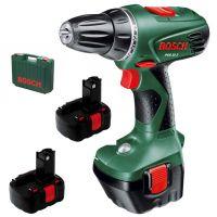 Акумулаторен винтоверт Bosch PSR 12 V  / 2 батерии + куфар /