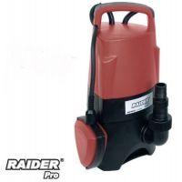 ВОДНА ПОМПА ПОТОПЯЕМА RAIDER RDP-WP25 / 750 W , воден стълб 8 м / за мръсна и чиста вода