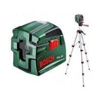 Лазерен нивелир Bosch PCL 10 - комплект със статив / 10 m /