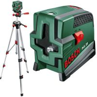 Лазерен нивелир линеен Bosch PCL 20 SET - комплект със статив