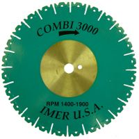 Диамантен диск IMER Ø 400/25.4 / сегмент , тухли , бетон /