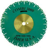 Диамантен диск IMER Ø 250/25.4 мм / сегмент , тухли , пясъчник , шамот /