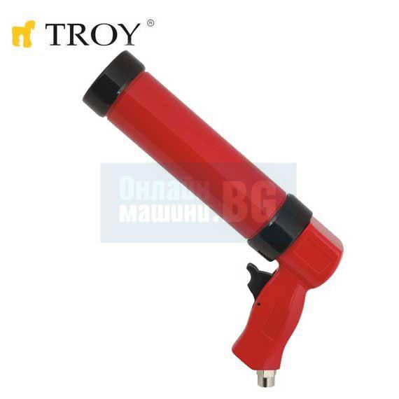 Пневматичен пистолет за силикон Troy  T2007 - 330мл / 3.5 bar, 1/4''(N)PT /