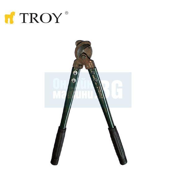 Ножица за рязане на кабел TROY T 24020 / Ф 125 кв.мм., 350 мм. /
