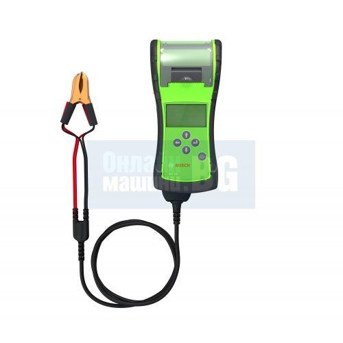 Тестер за акумулатори / с принтер / Bosch  BAT 131