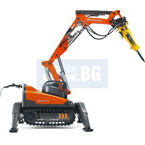 Многофункционален робот Husqvarna DXR 140 15 kW (хидравличен)