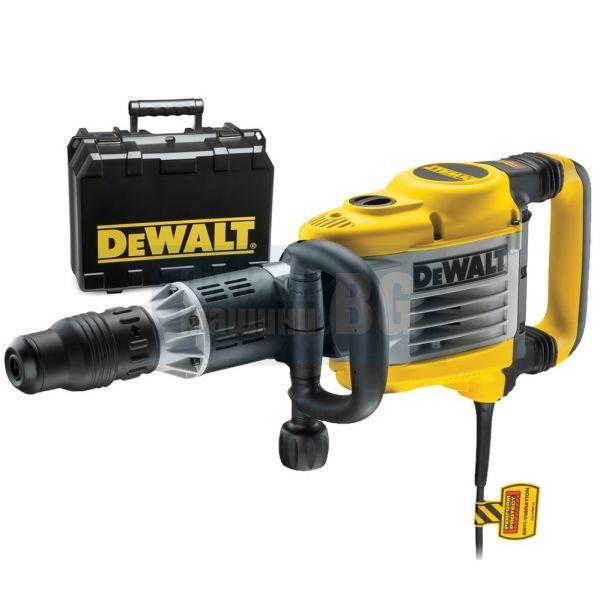Къртач със захват SDS-max DeWalt D25902K-QS  / 1550 W , 19 J /