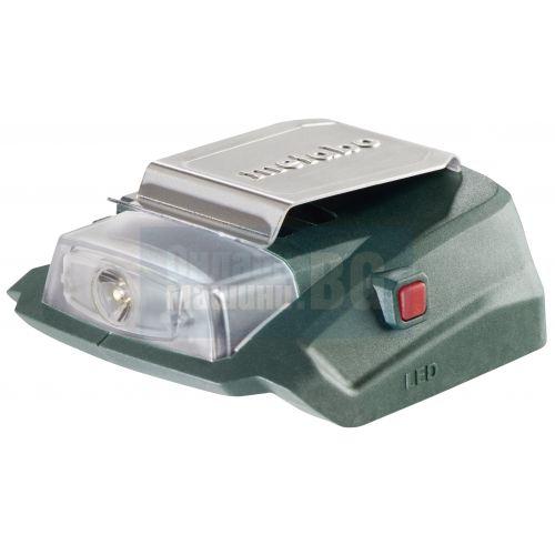 0cb50655a21 Сравнение на Акум. LED-фенер + зарядно за телефон или таблет METABO ...