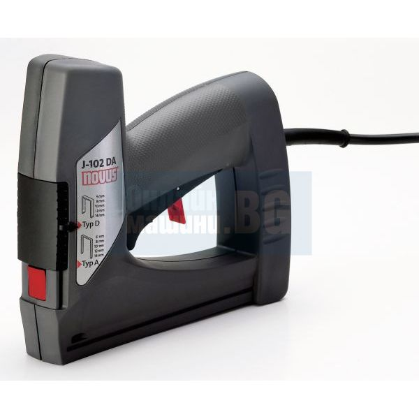 Такер електрически NOVUS J 102 DA /за кламери тип D, A/