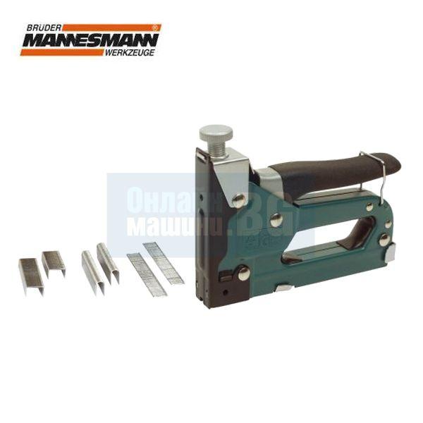 Професионален ръчен регулируем такер Mannesmann M 48410 / 4 - 14 мм /