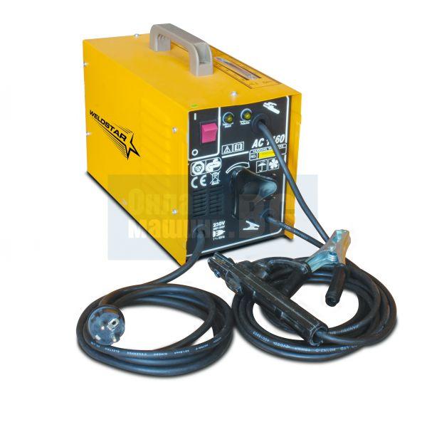 Електрожен WELDSTAR AC1160, 230V, 50Hz, 45-140A, 1.6-4.0 мм