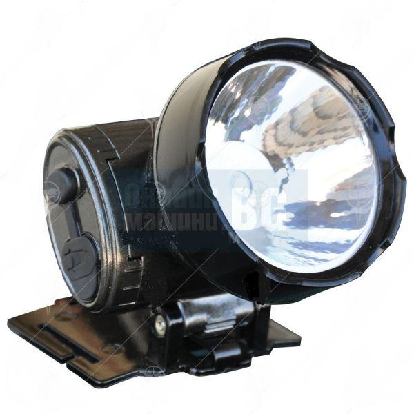 Лампа за глава /челник/ акумулаторен със зарядно Klaus LED / 1W, AC 90-240V /