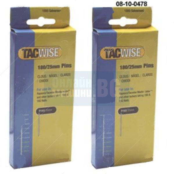 Пирони TACWISE 180 / 180x35 mm , 1000 бр. /