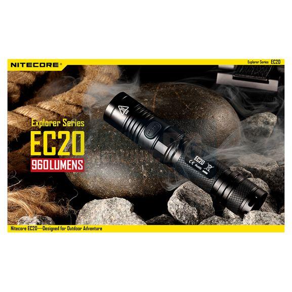 Фенер Nitecore EC20 / 960 lm /