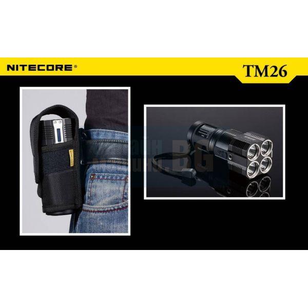 Фенер Nitecore TM26 / 4000 lm , 445 m /