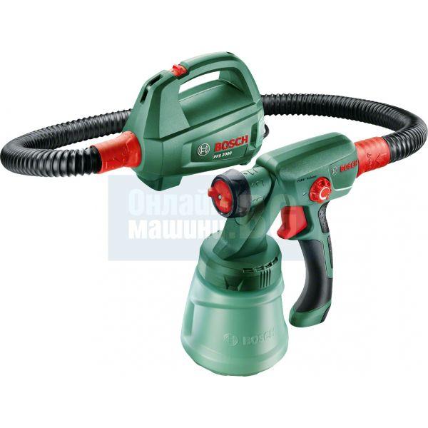 Машина за фино пулверизиране на боя Bosch PFS 2000 / 440 W , 800 ml /
