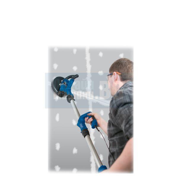 Шлайф машина за стени и тавани Scheppach DS920 / 710 W , ф 225 mm , 1200-1700 x 270 x 260 мм /