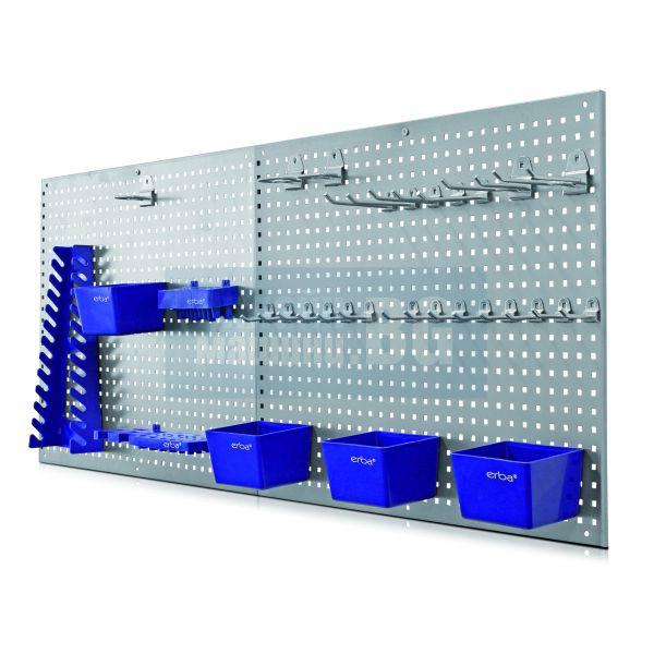Стена, Стелаж за инструменти Erba 06601 / 558 х 458 х 8 мм /