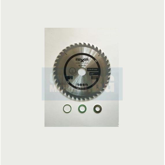 Циркулярен диск за алуминий REXXER RG-08-453 / Ø 250x1.5x30 mm , 100 зъба /