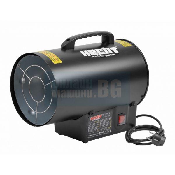 Газов калорифер HECHT 3015 с предпазен клапан / 15 kW , 320 m³/h, LPG /