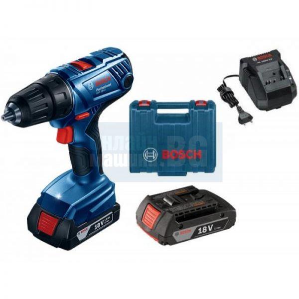 Акумулаторен винтоверт Bosch GSR  180-LI Professional / 18 V , 1,5 Ah /